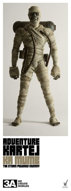 AK KA MUMB - steam powered mummy!   Available for pre-order in 2013.