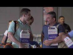 Ação da Salton em voos da Azul surpreende passageiros - YouTube
