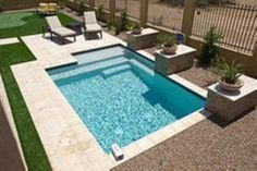 Cool 47 Beautiful Backyard: Small Swimming pool Ideas https://decoraiso.com/index.php/2018/06/03/47-beautiful-backyard-small-swimming-pool-ideas/