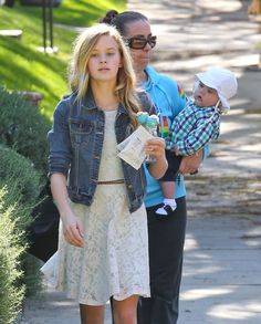Reese Witherspoon's Cute Kids #reesewitherspoon, #cutestcelebkids
