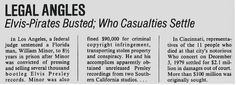 Who, The / Elvis-Pirates Busted - Who Casualties Settle | Magazine Article (1983)