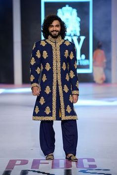 Sherwani by HSY. PFDC Summer Collection 2014