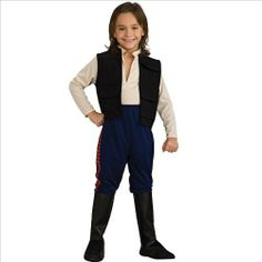 Star Wars Deluxe Halloween Costume Han Solo - Child Costume Size Small by Buyseasons 1010726. $28.99. Child Sizes 4-6. Star Wars Costumes. Kids Costumes. Great for Kids. Movies Costumes. The pilot of the Millennium Falcon! Shirt with attached vst and pants with attached boot tops.