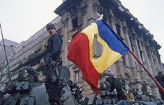 Romanian Revolution Flag | Flags | Pinterest | Romanian Revolution, Revolutions and Flags Caryl Churchill, Romanian Revolution, First Language, Bucharest, Historical Pictures, Countries Of The World, Oppression, Places To Visit, Fair Grounds