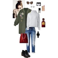 How To Wear Khaki coat Outfit Idea 2017 - Fashion Trends Ready To Wear For Plus Size, Curvy Women Over 20, 30, 40, 50