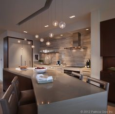 Like the counter going to be a table at the end. From Patricia Gray | Interior Design Vancouver