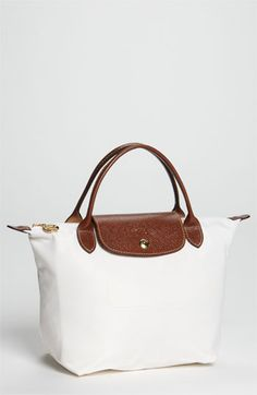 Longchamp 'Le Pliage - Mini' Tote | Nordstrom. LOVE it in white!