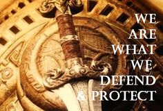 we are what we defend and protect