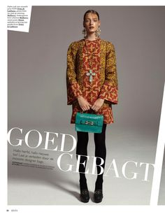 visual optimism; fashion editorials, shows, campaigns & more!: goed gebagt: vivian and vera by carmen kemmink for grazia netherlands 23rd october 2013