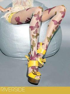 Gewaagde Miss Sixty-panty's aan de benen | Mode | De Morgen