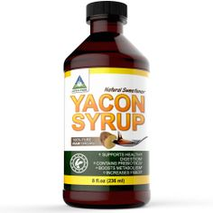 Yacon Syrup PREMIUM, 100% Pure Raw Organic, Low Cal Natural Sweetener ($22.97 plus shipping) Read my review here: http://www.amazon.com/review/R3HSQX3XY8TZ8P/ref=cm_cr_rdp_perm