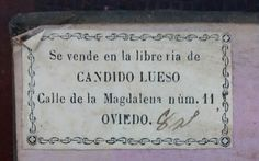 submitted by/via flavioaquilina (https://nl.pinterest.com/flavioaquilina/)    Spain -Oviedo  Librería de Candido Lueso (collection : covadonga miravalles)  Fotografía: Covadonga Miravalles
