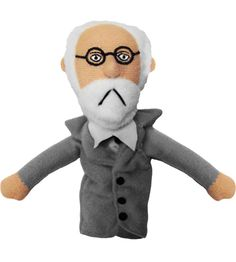 Sigmund Freud Finger Puppet My best friend in high school had this little guy.
