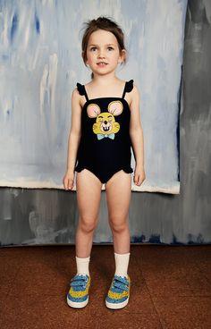 Bañador Ratón niña Mini Rodini