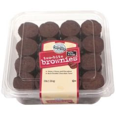 Shop Sam's Club for desserts for every occasion, including cakes, pies, cookie trays, bulk pastries and individual desserts Two Bite Brownies, Mini Brownies, Fudgy Brownies, Mini Chocolate Chip Muffins, Chocolate Cupcakes, Individual Desserts, Mini Desserts, Mini Brownie Bites, Fresh Pumpkin Pie