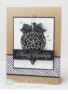 Stampin' Up! Embellished Ornaments
