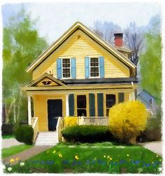 27 best yellow houses images on pinterest yellow houses beach