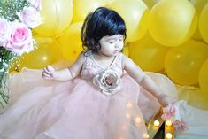 Maryam's 1st Birthday Girls Dresses, Flower Girl Dresses, Baby Couture, Walking Down The Aisle, Fashion Show Collection, Wedding Dresses, Birthday, Design, Dresses Of Girls
