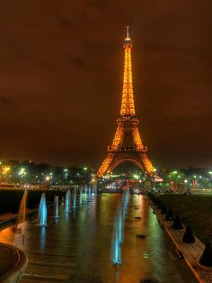 Paris! On my bucket list :) I don't think the trip when I was two and can't even remember counts