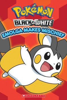 Emolga Makes Mischief (Pokeman Black & White)