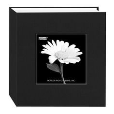 Pioneer 100 Pocket Fabric Frame Cover Photo Album, Deep Black *** More info could be found at the image url-affiliate link. #PhotoAlbumsAccessories