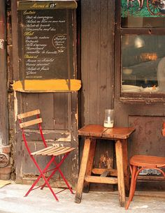 Small restaurant in the Latin Quarter by Jeffrey B., via Flickr