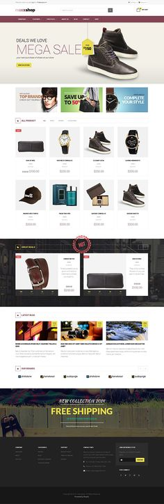 MaxxShop Shopify Theme #shopify #theme #junothemes #responsive  MaxxShop is a tidy and Responsive Shopify Theme suitable for any kind of boutique, clothes store, Fashion Shop, High fashion, Men fashion, Women fashion, Digital, Kids, Watches, Jewelries, Shoes, Bags, Glasses, Makeup products or similar websites that needs a feature rich and beautiful presence online with elegant and flexible design  http://junothemes.com/theme/maxxshop-shopify-theme/