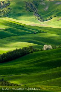 Primavera in  Toscana by Massimo Pelagagge, via Flickr - perfect example of a landscape shot!
