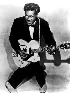 Charles Edward Anderson Berry aka Chuck Berry rock and roll guitarist  #reprotableaux #reproduction #reproduce #art #artiste #musique