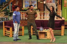 The Kapil Sharma Show 1st October 2016 Episode Video Guests John Abraham, Sonakshi Sinha promotes Force 2