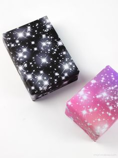 Starry gift wrap - Mr Printables