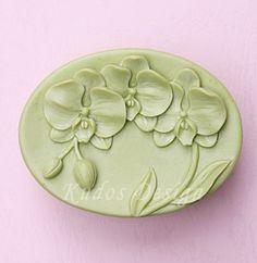 soap mold, silicone soap mold, FL021 Orlane (Kudos Design, Kudosoap) Taiwan $18 I HAVE THIS ONE ! ibt
