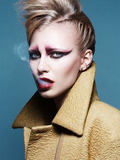 Punk makeup