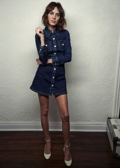 Alexa_Chung-AG_Jeans-Collection-Blue_Denim