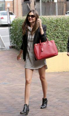 Hoodie Dress, Blazer & Booties //   NOTE: can also try Hoodie, Shirt Dress & Blazer