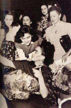 Frida Kahlo y Emma Hurtado