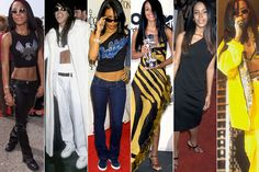 20 Ways to Steal Aaliyah's Style - Aaliyah Inspired Fashion - Elle