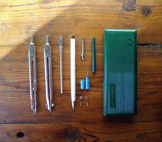 Lot of Drafting Instruments Soviet Vintage USSR by MerilinsRetro, $22.00