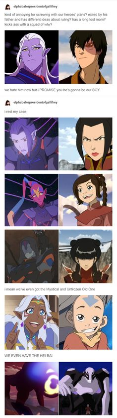OKAY BUT what if only his squad is redeemed? (I'm thinking especially the Azula chick)