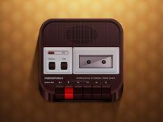 Иконка iOS магнитофон Протон 402