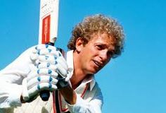 47 David Gower play cricket