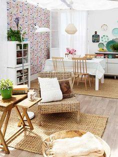 12 Pequenas salas rústicas ~ Decoração e Ideias | casa e jardim