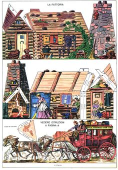Paper Puppets, Paper Toys, Papercraft Anime, Cardboard Box Houses, Paper Art, Paper Crafts, Paper Doll House, Paper Architecture, Toy Theatre