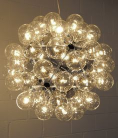 "Castiglioni ""Taraxacum 88"" Chandlier - too much for dining room?"