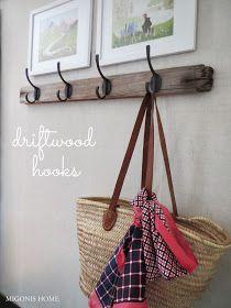 Migonis Home: Driftwood Hooks
