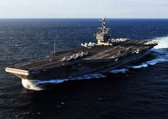 This aircraft carrier called Geogle Washington people use it to commemorate he