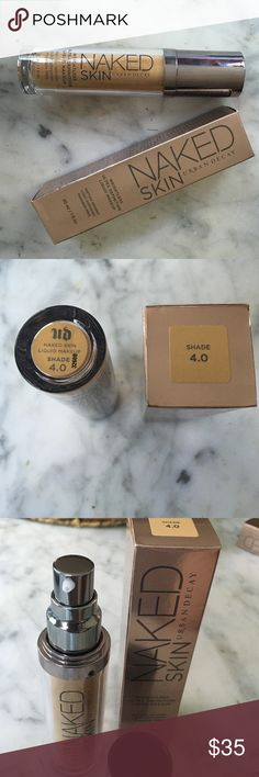 NAKED FOUNDATION 4.0 Brand New, Shade 4.0. Never been used Urban Decay Makeup Foundation