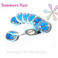 Strong Lace Front Super Double-Sided Adhesives Tape 3 Yards Blue Lace Front Support Glue for toupee wig pre-tape hair extensions