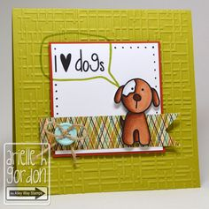 Snappy Stampin' w/ Arielle: I LOVE DOGS / TAWS Freebie Wednesday...