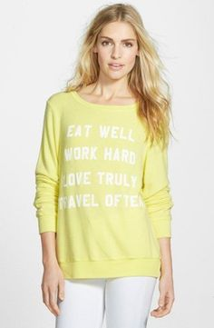 Life Mantra, from Wildfox